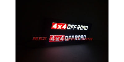 MXS2576  Led 4x4 Off Road Lights For Car and SUV