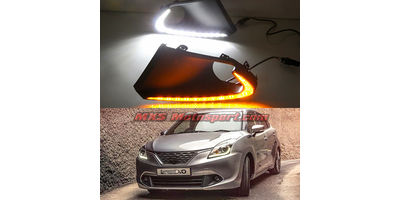 MXS2578 Maruti Suzuki Baleno LED Fog Lamps Daytime Running Light