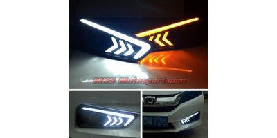 MXS2587 Honda City Led  Fog Lamps Daytime Running Lights