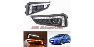 MXS2596 Honda City LED Fog Lamps Day Time running Lights