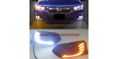 MXS2598 Honda City LED Fog Lamps Daytime Running Light 2017 Model