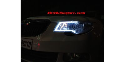 Projector Headlamps Kit For Car