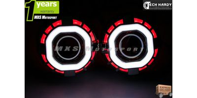 MXS784 Honda Amaze Headlight HID BI-XENON Robotic Eye Projector