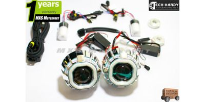 Mahindra  Logan Headlight HID BI-XENON Robotic Eye Projector