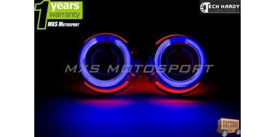 MXS996 Tata Indigo eCS Headlights HID BI-XENON Projector Ballast Shark & Angel Eye