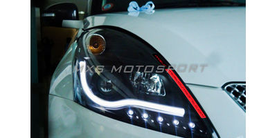 MXSHL04 Maruti Swift & Dzire Headlights audi style Day running light & Projector