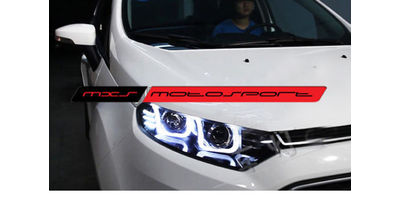 MXSHL08 Motosport Ford Ecosport Headlights audi style Day running light & Projector