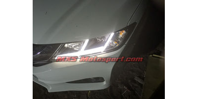 MXSHL10 Motosport Honda City i-Dtec New2014+ Projectors Headlights Day Running Light