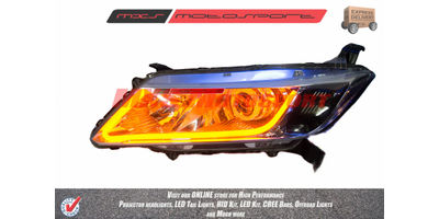 MXSHL20 Motosport Projector Headlight Honda City I-Dtec