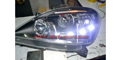 MXSHL430 Projector Headlights with Audi Style Day Running Light Toyota Innova