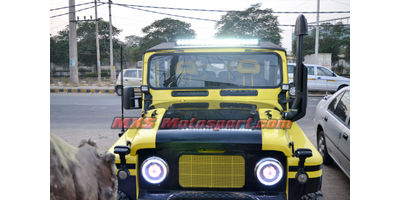 MXSHL436 Projector Headlights for Mahindra Thar Jeep
