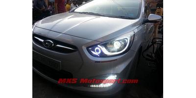 MXSHL453 Dual Projector Headlights Hyundai Verna Fluidic