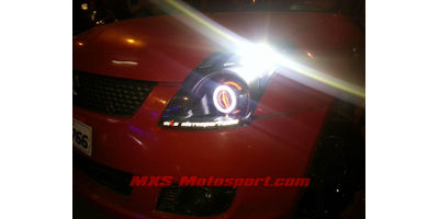 MXSHL457 Shark Eye Projector Headlighta Maruti Suzuki Swift Old