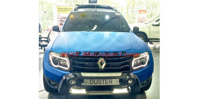MXSHL46 Renault Duster Headlights audi style Day running light & Projector