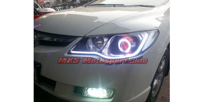 MXSHL474 Projector Headlights Honda Civic