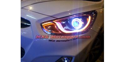 MXSHL475 Projector Headlights Hyundai Verna Fluidic