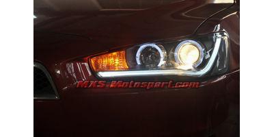 MXSHL484 Projector Headlights Mitsubishi Lancer 2009-2010