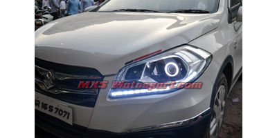 MXSHL491 Projector Headlights Maruti Suzuki S Cross with Matrix Style