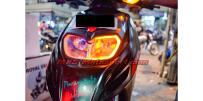 MXSHL496 Led Headlight with Daytime Running Light Aprilia SR 150