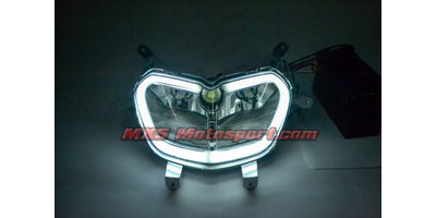 MXSHL520 Aprilia SR 150 Led Headlight with Daytime Running Light