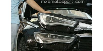 MXSHL530 Audi A6 RS6 Matrix Style Headlights