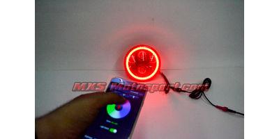 MXSHL563 Harley Davidson Headlight Halo Ring Angel Eye with Bluetooth APP Control