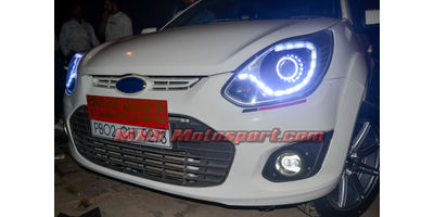 MXSHL579 Ford Figo Projector Headlights Matrix Mode