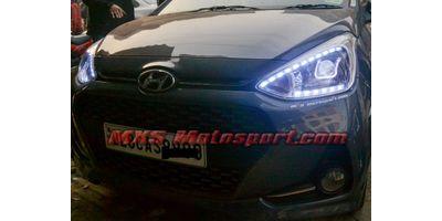 MXSHL596 Hyundai Grand i10 Daymaker Projector Headlights with Matrix Mode