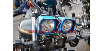 MXSORL136 LED Fog Lights Bajaj Avenger Motorcycle