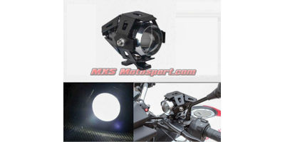 MXSORL139 U5 CREE LED Lamp Projector Lens Auxiliary Fog Light Motorcycle