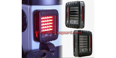 "MXSTL103 Monster Led Tail Lights Mahindra Thar"" Jeep ""Wrangler"" SUV Off Road"