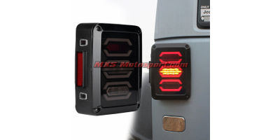 "MXSTL104 Monster Led Tail Lights Mahindra Thar"" Jeep ""Wrangler"" SUV Off Road"
