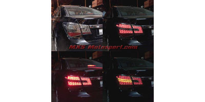 MXSTL113 LED Tail Lights with Smoked Black Chevrolet Cruze