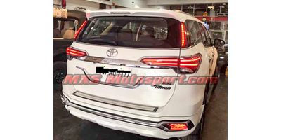MXSTL123 LED Rear Upper Tail Lights Toyota Fortuner 2017