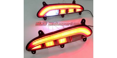 MXSTL124 Rear Bumper Reflector DRL LED Tail Lights Hyundai i20 Elite