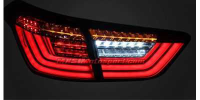 MXSTL126 Hyundai Creta Led Tail Lights  with Matrix Mode (Clear Glass)