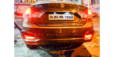MXSTL127 Maruti Suzuki Ciaz Rear Bumper LED Reflector DRL Light