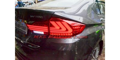 MXSTL128 Honda City idtecv Led Tail Lights with Matrix Mode