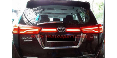 MXSTL131 Toyota Innova Crysta LED Tail Lights with Matrix Mode