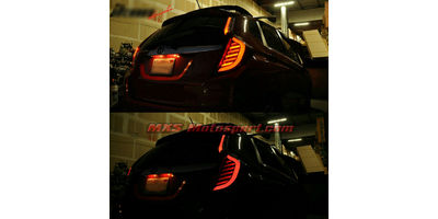 MXSTL133 LED Tail Lights Honda Jazz 2014+