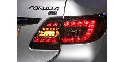 MXSTL140 Toyota Corolla Led Tail Light Smoked Black