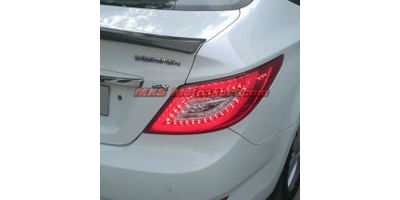 MXSTL20 LED Tail Lights Hyundai Verna Fluidic