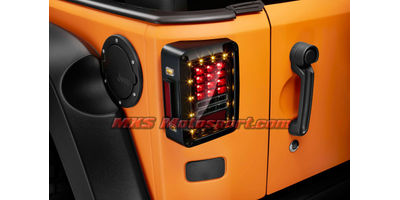"MXSTL65 Monster LED Tail Lights Mahindra Thar"" Jeep"" Wrangler"" SUV Off Road"