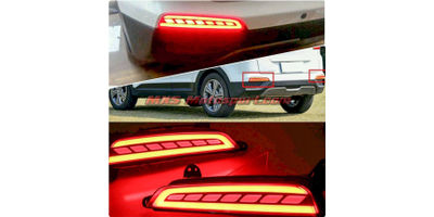 MXSTL72 Rear Bumper Reflector DRL LED Tail Lights  Hyundai Creta