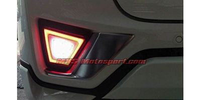 MXSTL73 Rear Bumper Reflector LED Tail Lights Honda Jazz