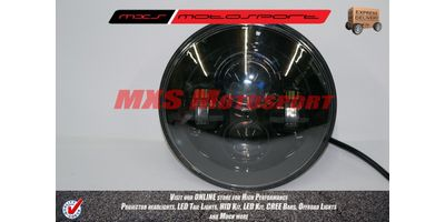 MXSHL100 Black Projector HID LED Light Royal Enfield Bullet