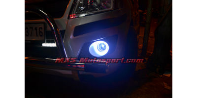 MXS2415 White 2x2.5 inch Car COB Led Angel Eyes Halo Ring Lights