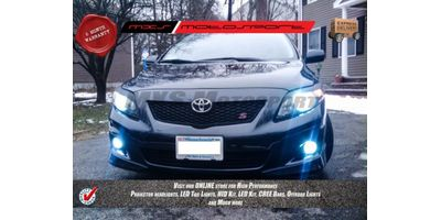 MXS Motosport Toyota Corolla Fog Lamp HID KIT with 6 Months* Warranty