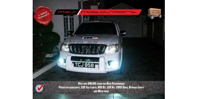 MXS Motosport Toyota Land Cruiser Prado Fog Lamp HID KIT with 6 Months* Warranty