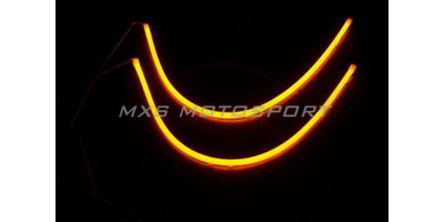 MXS1890 Audi-Style White-Amber DRL Daytime Running Light for Hyundai Accent